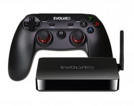EVOLVEO Android Box H4 Plus, 4K multimediální herní centrum
