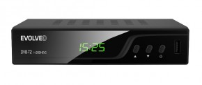 EVOLVEO Omega T2, HD DVB-T2 H.265/HEVC rekordér POUŽITÉ