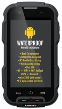 Evolveo StrongPhone Q4, černá ROZBALENO