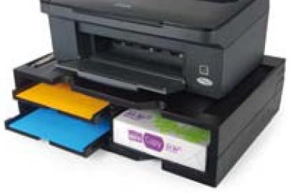 Exponent podstavec pod tiskárnu se 3 přihrádkami (42807)