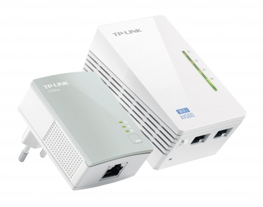 Extender Powerline TP-Link TL-WPA4220KIT, AV500