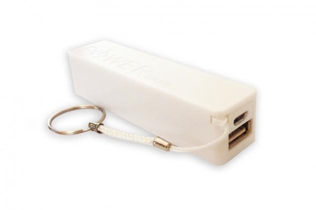 Externí baterie LTLM 2600mAh bílá
