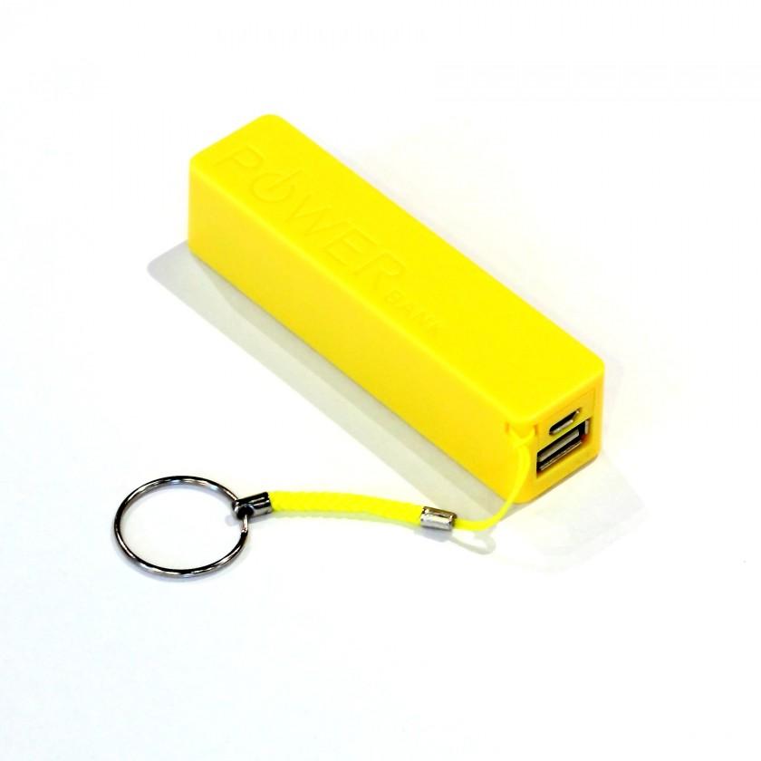 Externí baterie LTLM 2600mAh žlutá