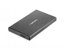 Externí box pro HDD 2,5'' USB 3.0 Natec Rhino Go, hliník, černý