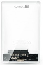 Externí box pro HDD Connect IT ToolFree clear (CEE-1300-TT)