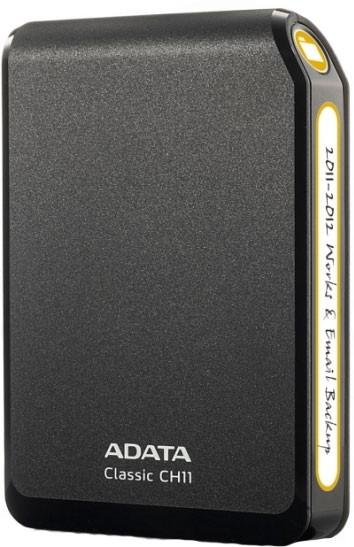 Externí disk A-Data CH11 750GB Black (ACH11-750GU3-CBK)