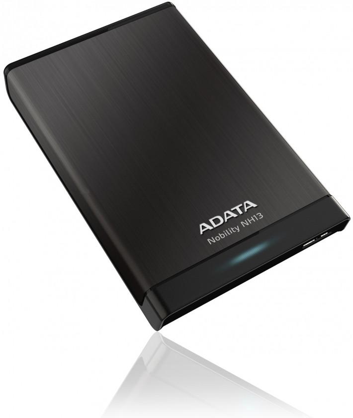 Externí disk A-data NH13 750GB černý, ANH13-750GU3-CBK