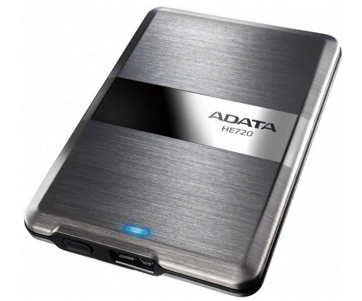 """Externí disk ADATA Externí HDD 1TB 2,5"""" USB 3.0 DashDrive Elite HE720, slim"""