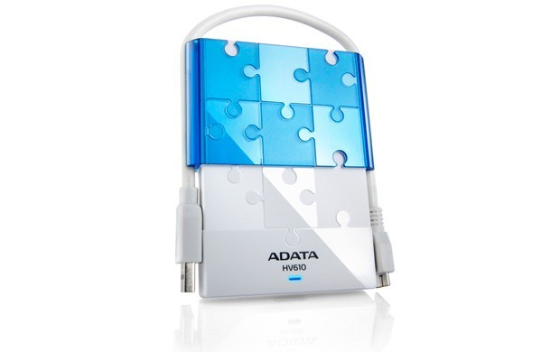 "Externí disk ADATA Externí HDD 1TB 2,5"" USB 3.0 DashDrive HV610, bílý"