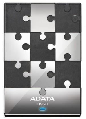 "Externí disk ADATA Externí HDD 500GB 2,5"" USB 3.0 DashDrive HV611, černý"