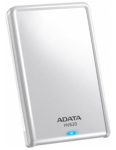 """Externí disk ADATA Externí HDD 500GB 2,5"""" USB 3.0 DashDrive HV620, bílý"""