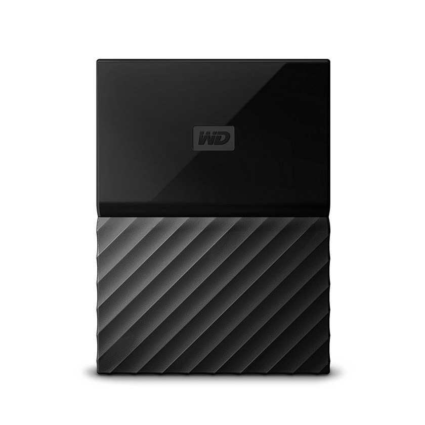 Externí disk Ext. HDD 2,5 WD My Passport 2TB USB 3.0 černý