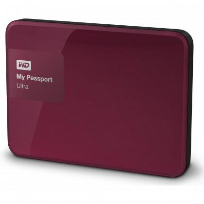 """Externí disk Ext. HDD 2.5"""" WD My Passport Ultra 1TB USB červený"""