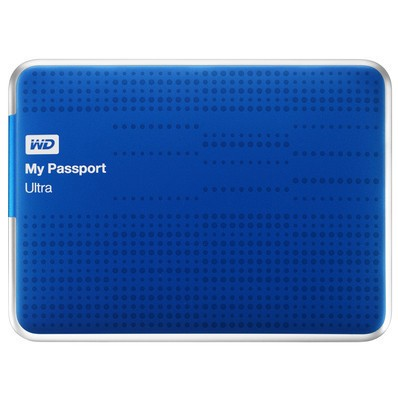 "Externí disk Ext. HDD 2.5"" WD My Passport Ultra 1TB USB modrý"
