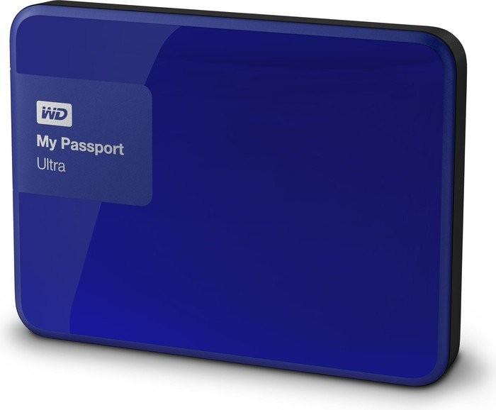 "Externí disk Ext. HDD 2.5"" WD My Passport Ultra 500GB USB modrý"