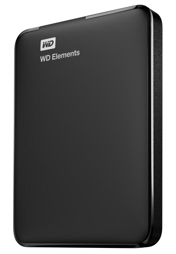 """Externí disk HDD 2.5"""" WD Elements Portable 1TB USB"""