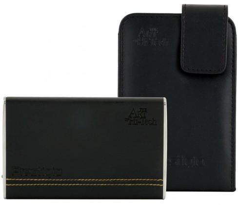 """Externí disk Prestigio Data Safe I 2,5"""" 500GB, USB 2.0, kůže (PDS1BK500)"""