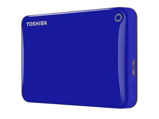 "Externí disk Toshiba HDD externí Canvio Connect II 2,5"" 1TB, USB 3.0, modrý"