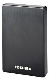 """Externí disk Toshiba HDD externí STOR.E ALU 2S 2.5"""" 1 TB, USB 3.0, černá"""