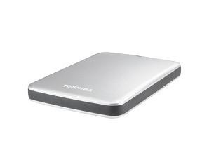 """Externí disk Toshiba HDD externí STOR.E CANVIO 2.5"""" 2TB, USB 3.0, stříbrný"""