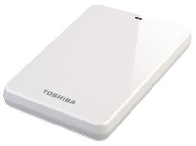 """Externí disk Toshiba HDD externí STOR.E CANVIO 2.5"""" 500GB, USB 3.0, bílý"""