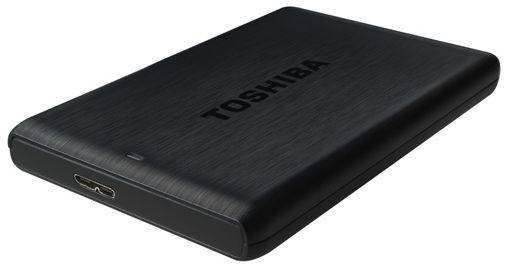 """Externí disk Toshiba HDD externí STOR.E PLUS 2.5"""" 500GB, USB 3.0, černá"""