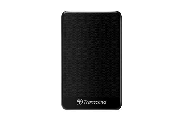 """Externí disk TRANSCEND externí HDD 2,5"""" USB 3.0 StoreJet 25A3, 2TB, Black (nár"""