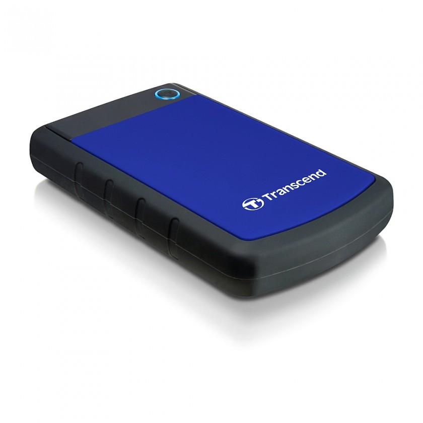 """Externí disk TRANSCEND externí HDD 2,5"""" USB 3.0 StoreJet 25H3B, 1TB, Blue (nár"""