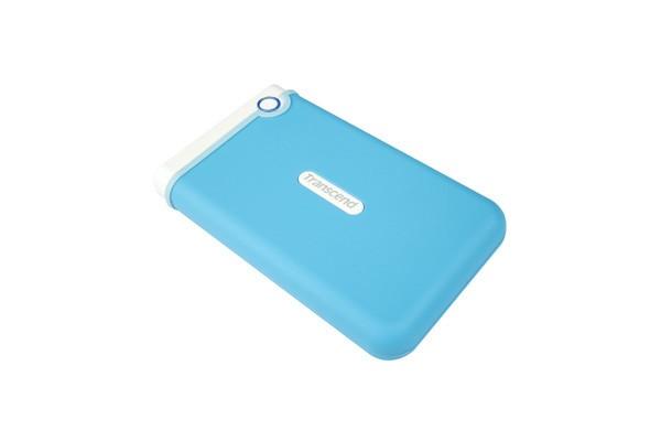 """Externí disk TRANSCEND externí HDD 2,5"""" USB 3.0 StoreJet 25M3B, 1TB, Blue (SAT"""