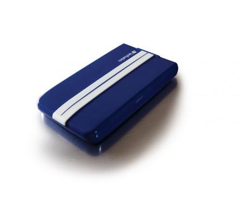 """Externí disk VERBATIM HDD 2.5"""" 500GB GT SUPERSPEED USB 3.0 modrá/bílá"""
