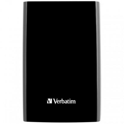 """Externí disk VERBATIM HDD 2.5"""" 500GB Store 'n' Go USB 3.0/2.0, Black černá"""