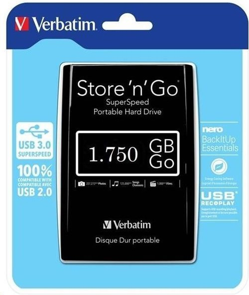 Externí disk Verbatin 53191