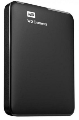 "Externí disk WD Elements Portable 750GB Ext. 2.5"" USB3.0, Black"
