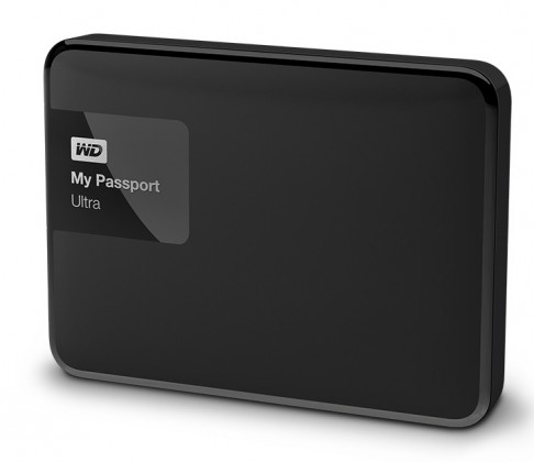 Externí disk WD My Passport ULTRA - 1TB, černá WDBGPU0010BBK-EESN