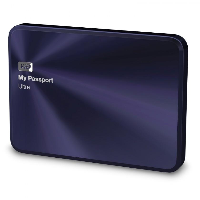 "Externí disk WD My Passport ULTRA METAL 1TB Ext. 2.5"" USB3.0, Blue-Black"