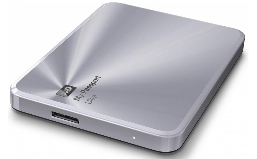 "Externí disk WD My Passport ULTRA METAL 1TB Ext. 2.5"" USB3.0, Silver"