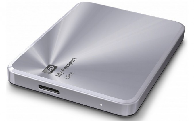 "Externí disk WD My Passport ULTRA METAL 2TB Ext. 2.5"" USB3.0, Silver"