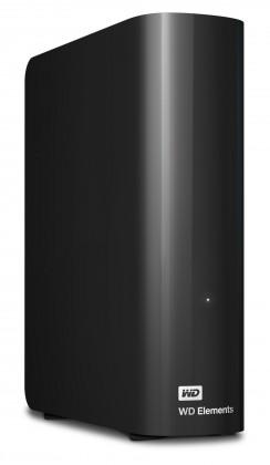 Externí disk Western Digital Elements Desktop 2TB (WDBWLG0020HBK-EESN) černý