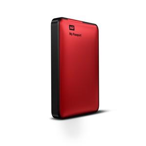 Externí disk Western Digital My Passport 500GB červený (WDBKXH5000ARD-EESN)