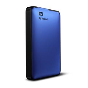 Externí disk Western Digital My Passport 500GB modrý (WDBKXH5000ABL-EESN)