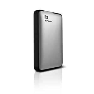 Externí disk Western Digital My Passport G2 1TB stříbrný (WDBBEP0010BSL-EESN)