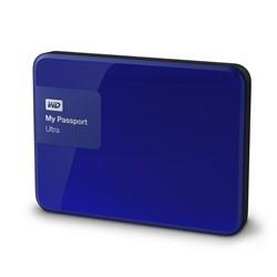 Externí disk Western Digital My Passport Ultra 3TB (WDBBKD0030BBL-EESN) modrý