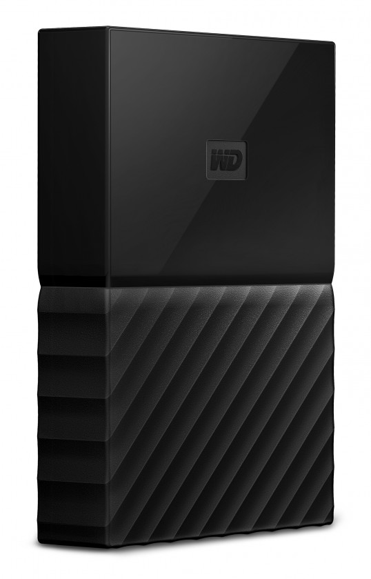 Externí disk Western Digital My Passport, WDBYFT0040BBK, 4 TB, černá