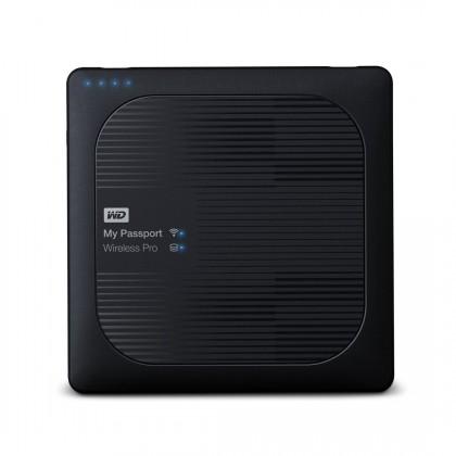 Externí disk Western Digital My Passport Wireless Pro, WDBP2P0020BBK, 2 TB