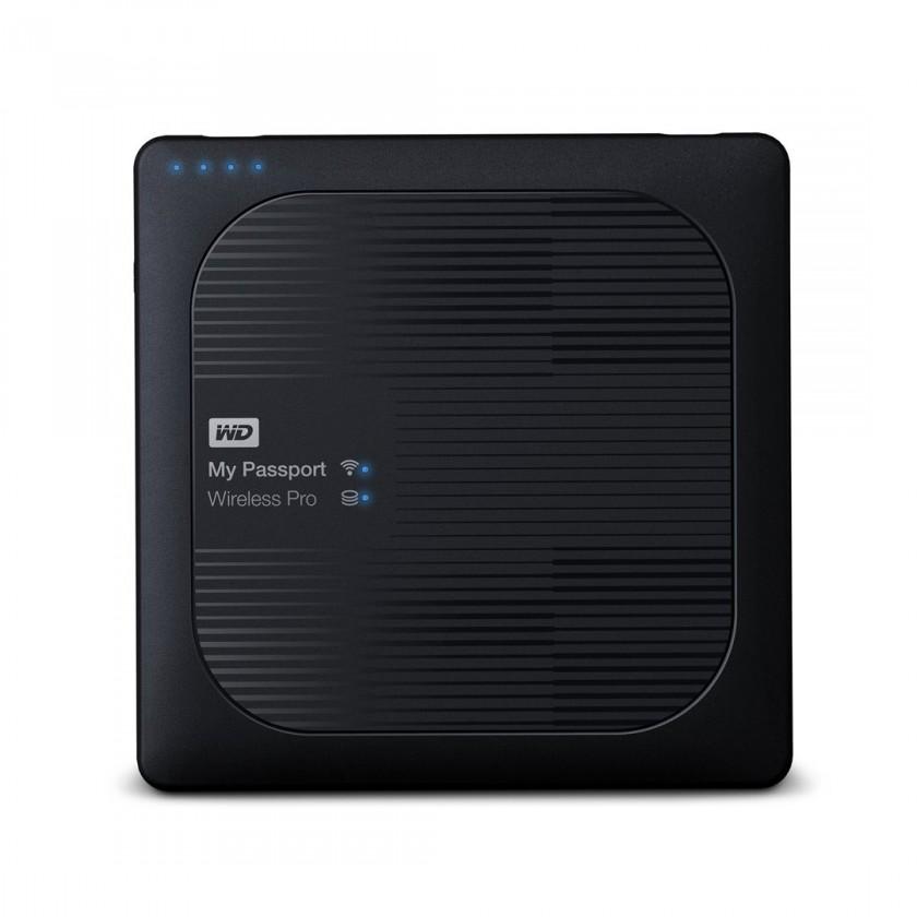 Externí disk Western Digital My Passport Wireless Pro, WDBSMT0030BBK, 3 TB