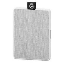 Externí SSD disk Seagate One Touch, 500 GB, bílá