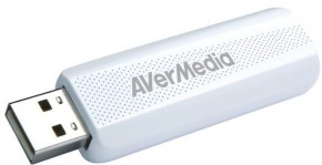 Externí USB tuner AVerMedia TV TD310, DVB-T/T2/C/HEVC ROZBALENO