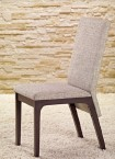Fabrizio - Jídelní židle (wenge/šedá)
