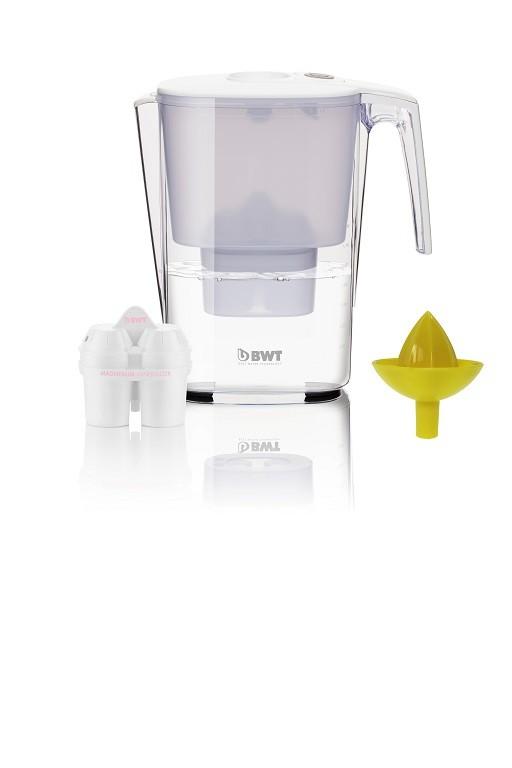 Filtrační konvice BWT ZBRE5050 Slim Mei + odšťavňovač + filtr