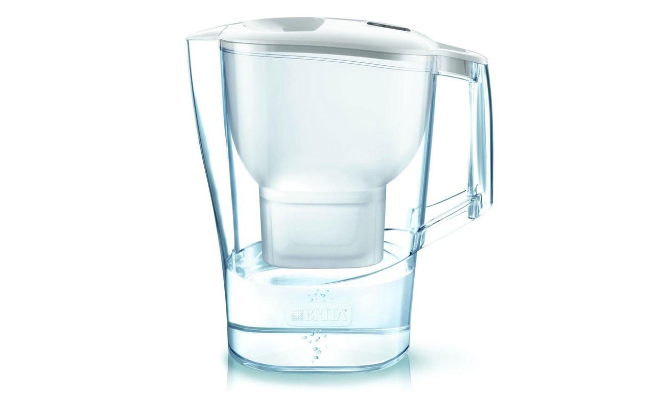 Filtrační konvice, filtry Filtrační konvice Brita ALUNA, bílá, 2,4l